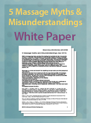 5 Massage  Myths and Misunderstandings - April 2016